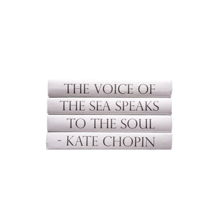 Kate Chopin Quote Book Stack