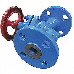 "1-1/2"" Carbon Steel ANSI 300 Class Piston Valve"