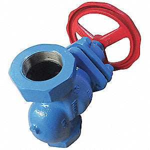 "1/2"" Carbon Steel NPT Piston Valve"