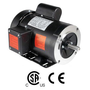 Worldwide General Purpose Single-Phase Motor 1 HP 1800 RPM