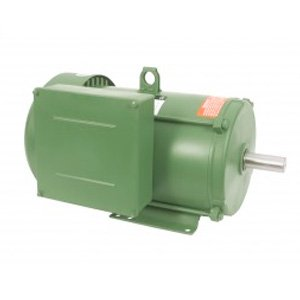 Worldwide Farm Duty High Efficiency Single-Phased Rigid Base Motors 2 HP 182T Frame 208-230 Volt