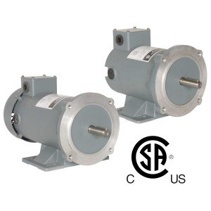 Worldwide Permanent Magnet DC TENV Enclosure Motors 1/2 HP 1800 RPM 24 Voltage