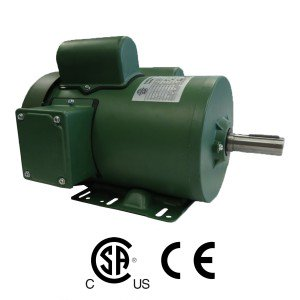 Worldwide Farm Duty High Efficiency Single-Phased Motors 1/3 HP 1800 RPM 115/230 Volt (Fractional)
