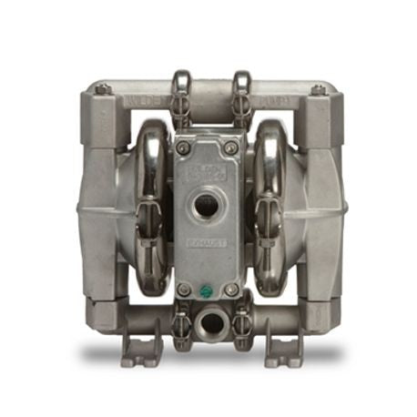 "WILDEN AODD PUMP, 0.5"" PRO-FLO SHIFT, CLAMPED STAINLESS STEEL, NPT, W/ HYTREL"