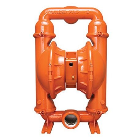 "WILDEN AODD PUMP, 3"" PRO-FLO SHIFT, CLAMPED DUCTILE IRON, NPT W/PTFE"