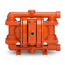 "WILDEN AODD PUMP, 1"" PRO-FLO SHIFT, BOLTED DUCTILE IRON, NPT, W/ PTFE"