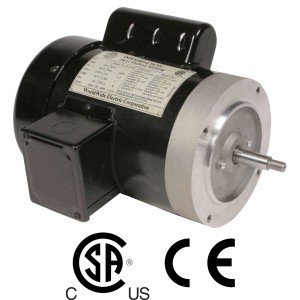 Worldwide Jet Pump Single-Phase Motor 1 HP 3600 RPM 56J Frame