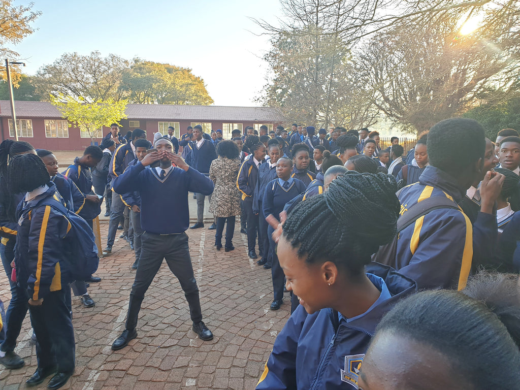 The Mayyarani donates dresses to Voortrekkerhoogte High School