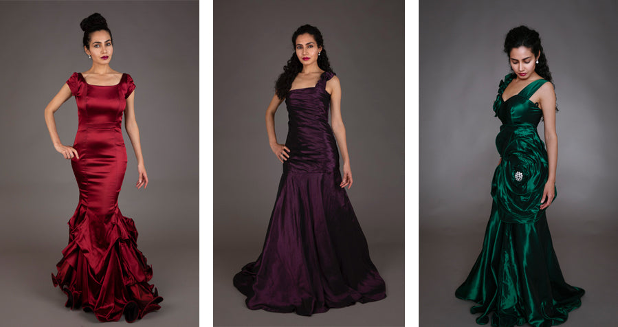 Pre-owned evening dresses by The Mayyarani