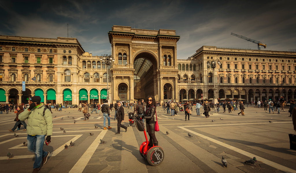 Segway tour of Milan city centre