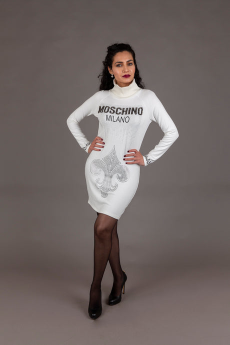 Love Moschino jersey cocktail dress (M-L)