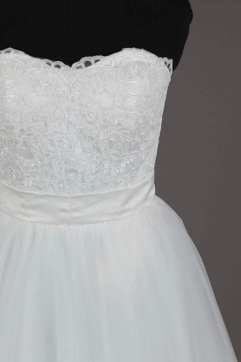 Baby Online Ivory Lace Wedding Dress
