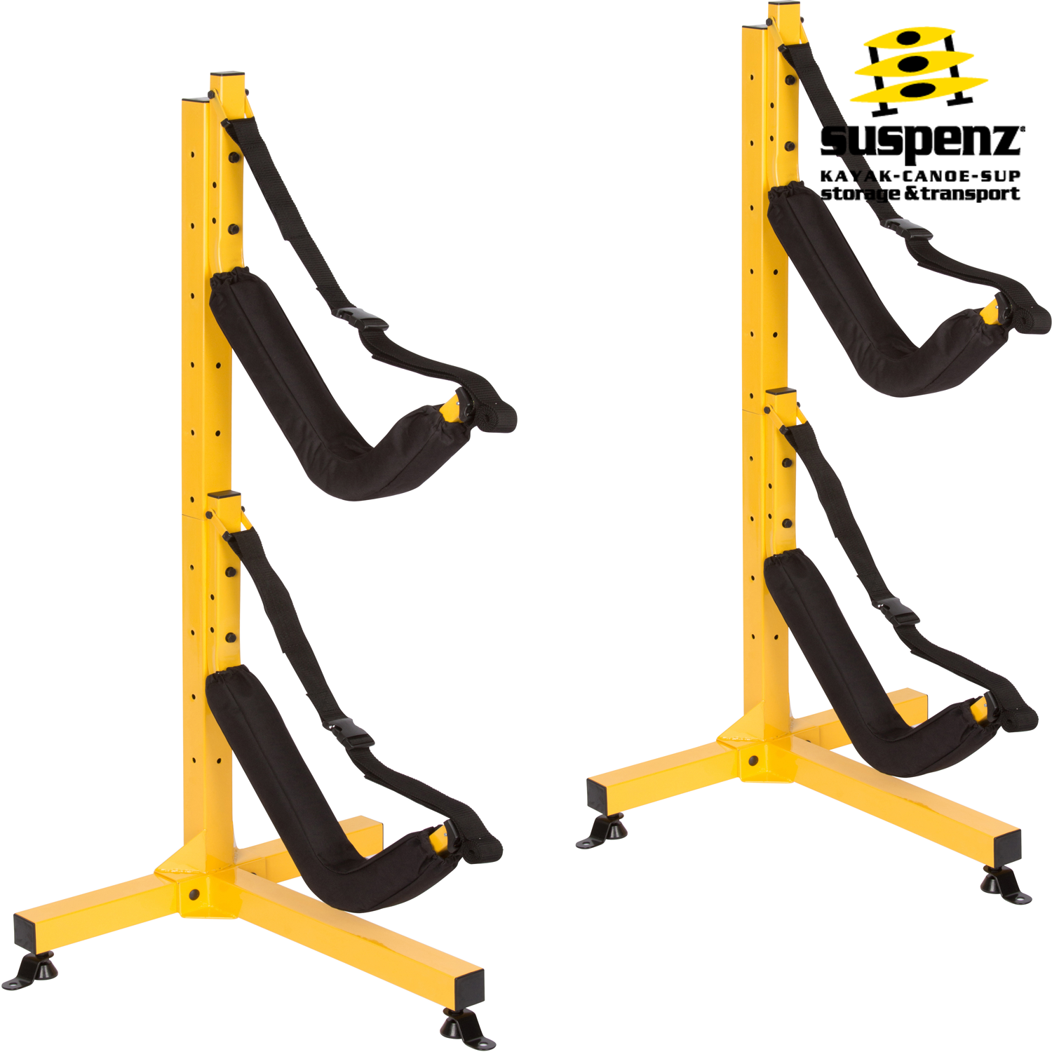 EZ 2 Kayak Free Standing Storage Rack   T Base