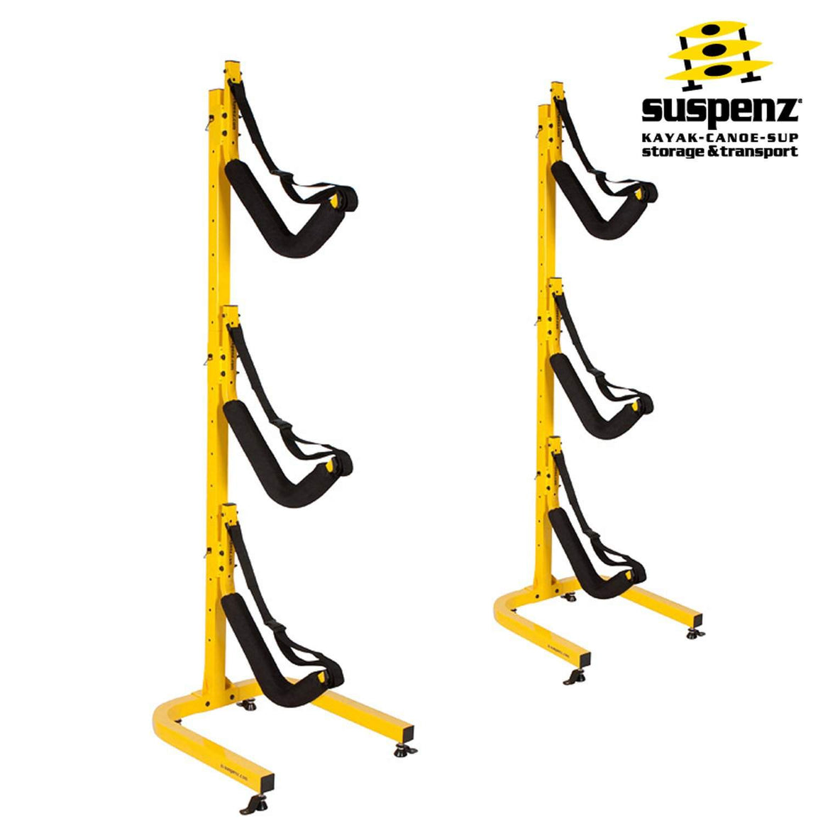 EZ 3-Boat Free-Standing Storage Rack - also available in BLACK!