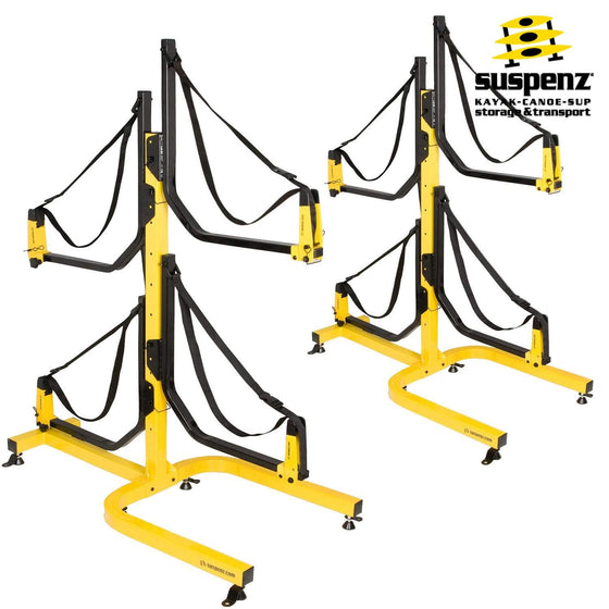 Deluxe 4-Boat Free-Standing Rack - also available in BLACK!