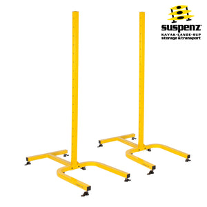 5-BOAT FREE-STANDING FRAME - ALSO AVAILABLE IN BLACK!