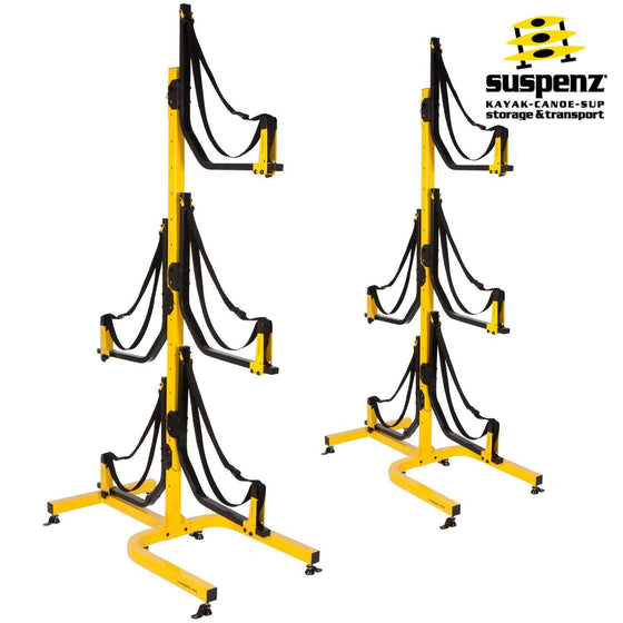 Deluxe 5-Boat Free-Standing Rack - also available in BLACK!