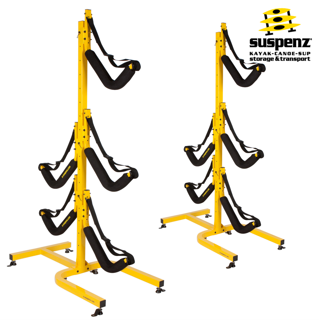 EZ 5-Boat Free-Standing Storage Rack - also available in BLACK!
