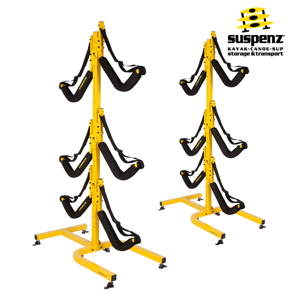 EZ 6-Boat Free-Standing Storage Rack - also available in BLACK!