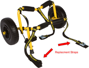 Stowable Kayak (SK) Cart Replacement STRAPS