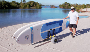 Double-Up SUP Beach Cart