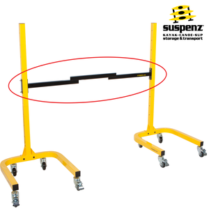 Caster & Adjustable Crossbar Set (for single sided rack)