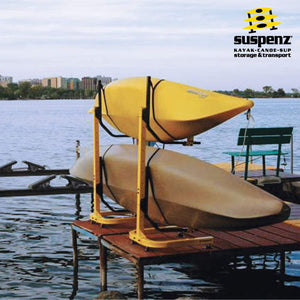 Deluxe 2-Boat Free-Standing Rack - also available in BLACK!