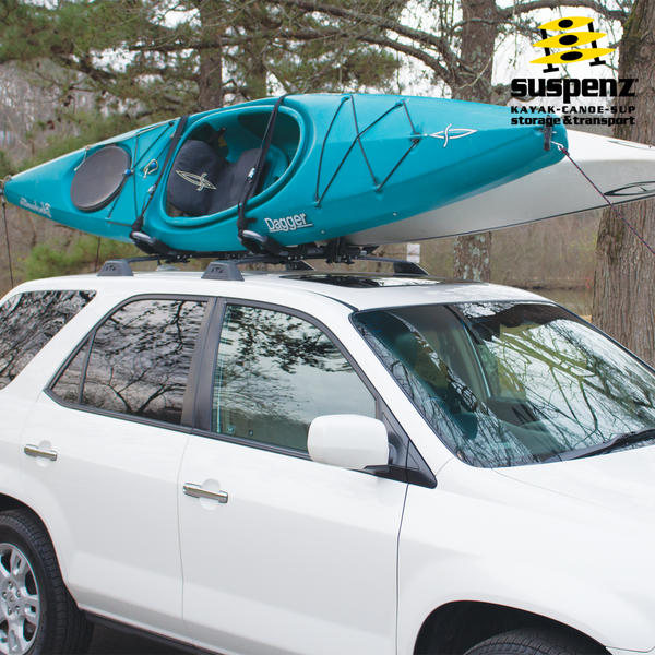 Kayak Roof Rack For Cars >> Double Kayak Roof Rack   Double Kayak Rack for Car   Suspenz