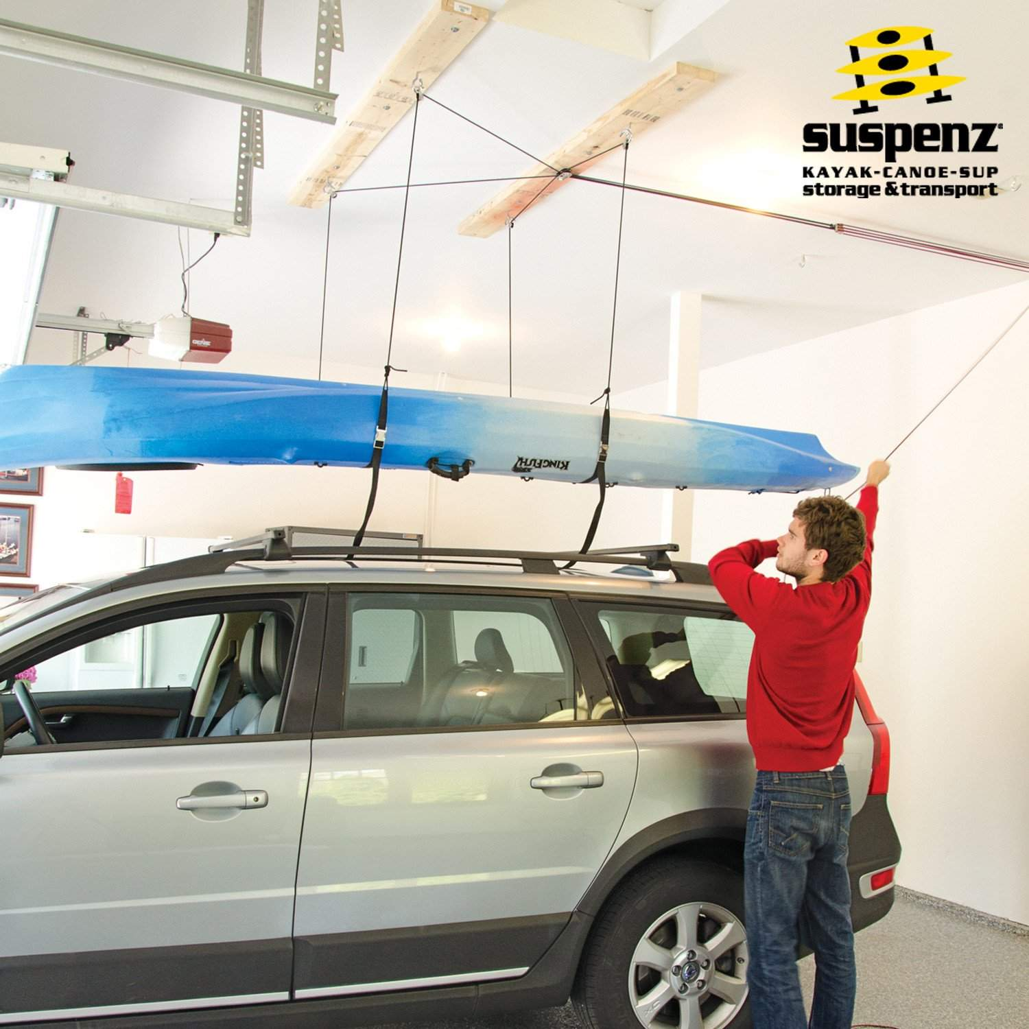 the overhead offering thinking to storage is garage function pulled easy when ceilings down ceiling ideas lift retractable vertical store