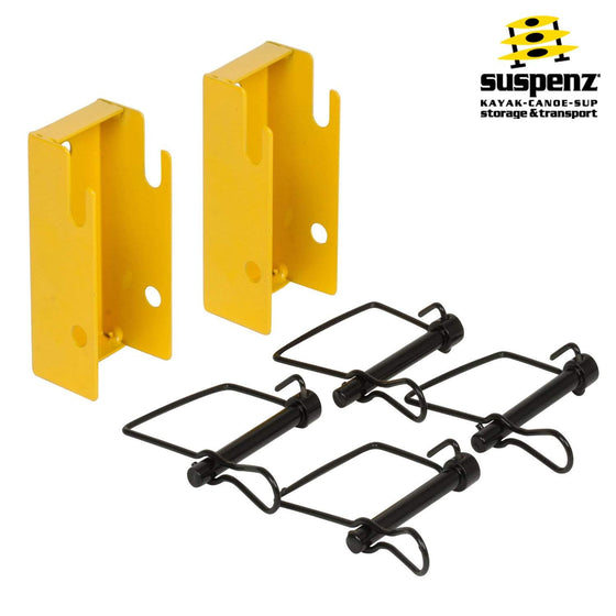 Quick Release Wall Mount Brackets - also available in BLACK!