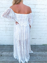 Lace Maxi | Off White