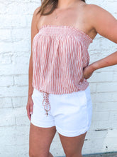 Stripe Bandeau | Peach