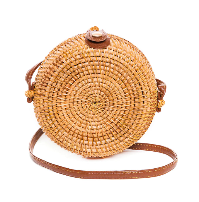 Straw Woven Cross Body