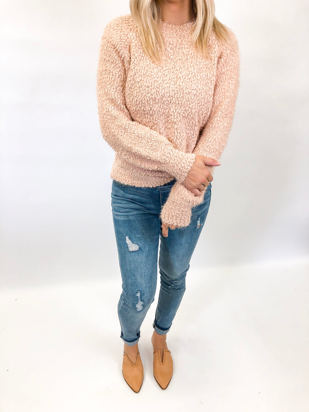 Serena Sweater | Blush