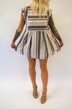 Striped Dress | Taupe