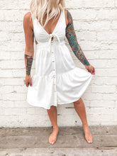 Breezy Midi Dress | White
