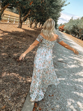 Spring Floral Maxi | Ivory