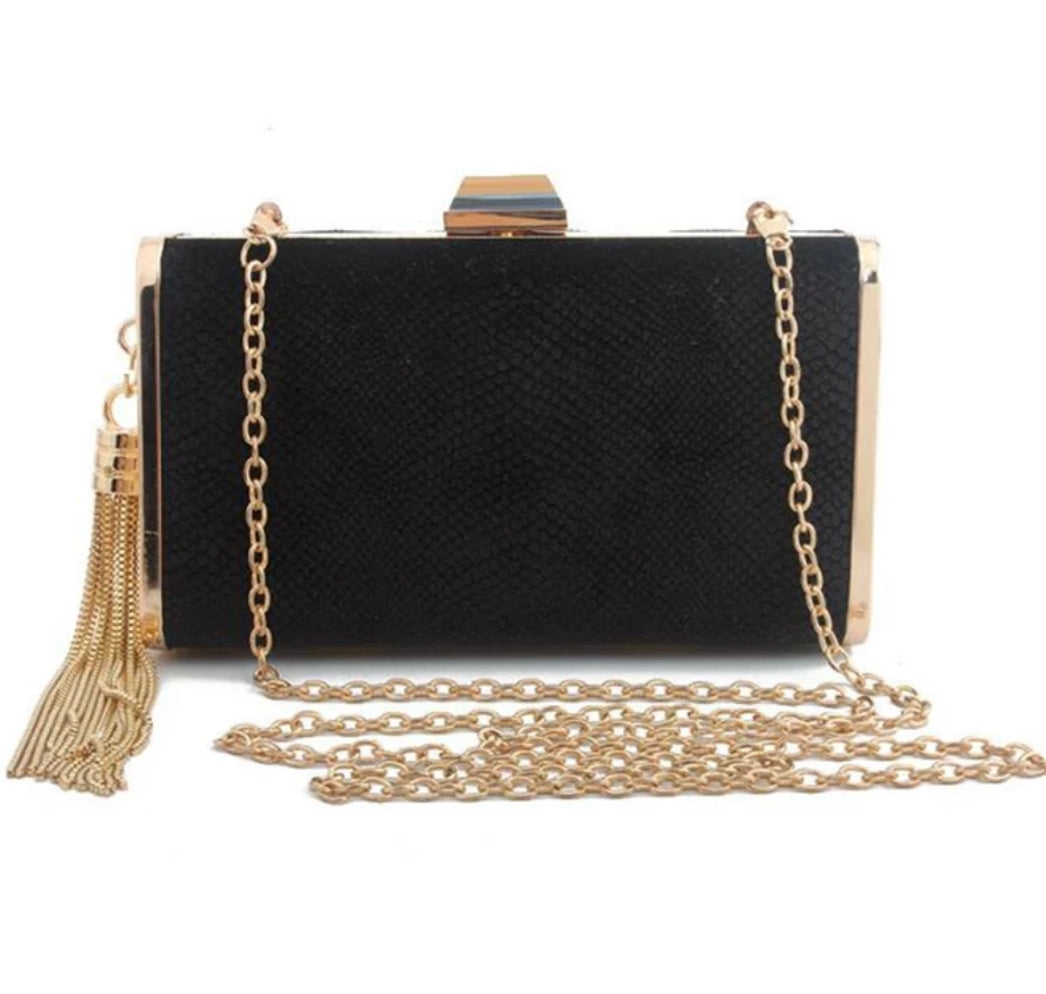 LUCA Clutch with Tassel