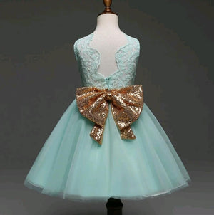 ELLA gown with big bow