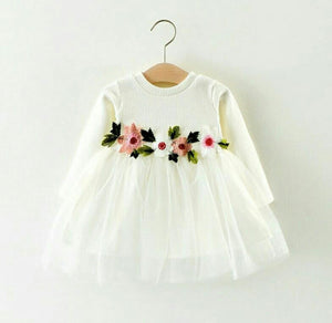 Dress with Soft Tutu Skirt