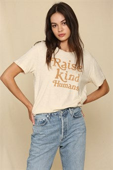 """Raise Kind Humans"" Knit"