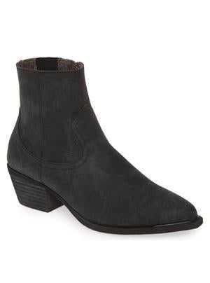Creed Bootie - Charcoal Stamped