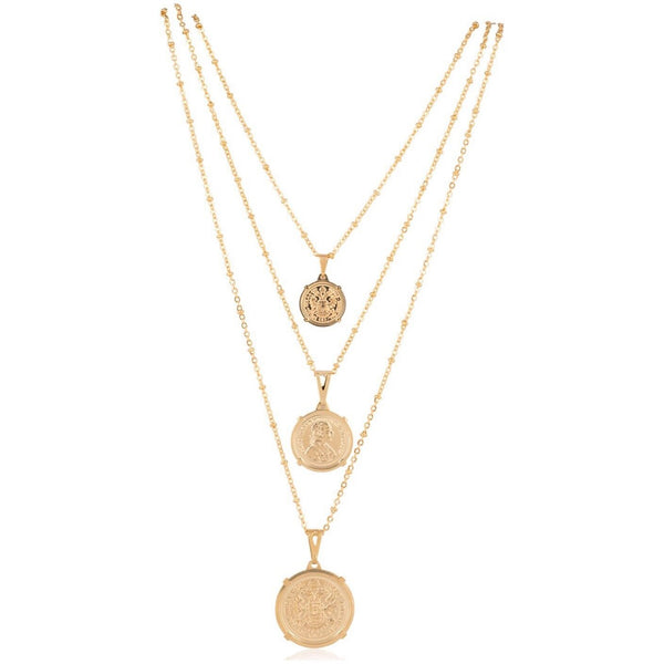 Emperor Coin Necklace - Small
