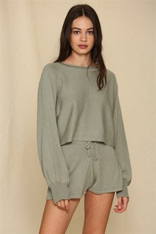 Oversized Long Sleeve Lounge Set
