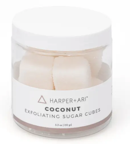 Harper + Ari - Exfoliating Sugar Cubes 5.3 oz - Coconut