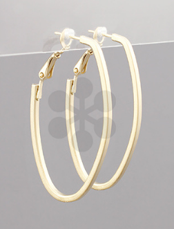 45mm Oval Hoops