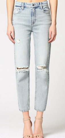 Vintage Distressed Slim Boyfriend