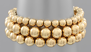 3 Row Stretch Bracelet