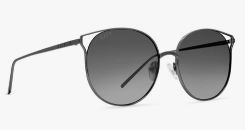 Summit - Matte Black Blue Gradient Flash Polarized