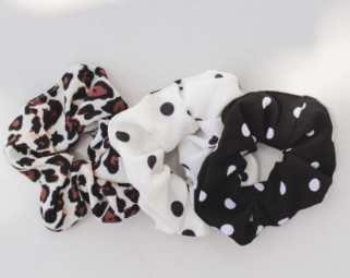 Multi Print Scrunchie